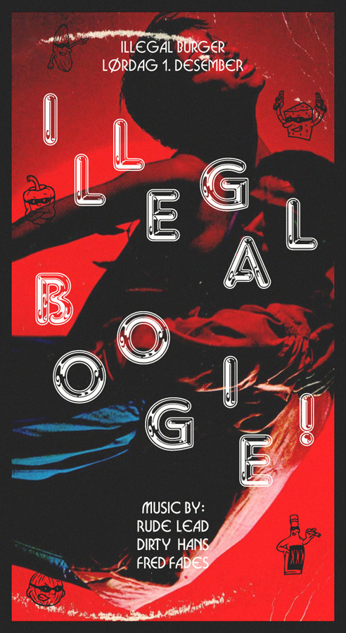 """Illegal Boogie!"" poster 1"