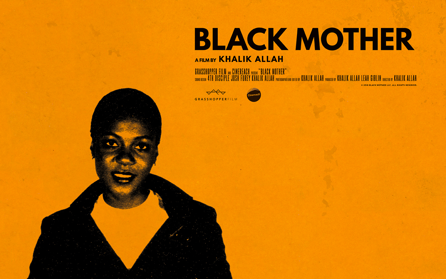 Black Mother movie poster - Fonts In Use