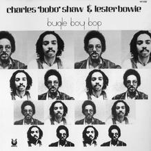 Charles Bobo Shaw &amp; Lester Bowie – <cite>Bugle Boy Bop </cite>album art