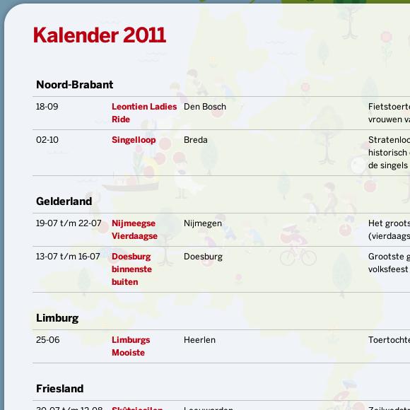 RegioBank Zomertoer website 4