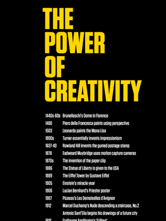 The Power of Creativity poster 2