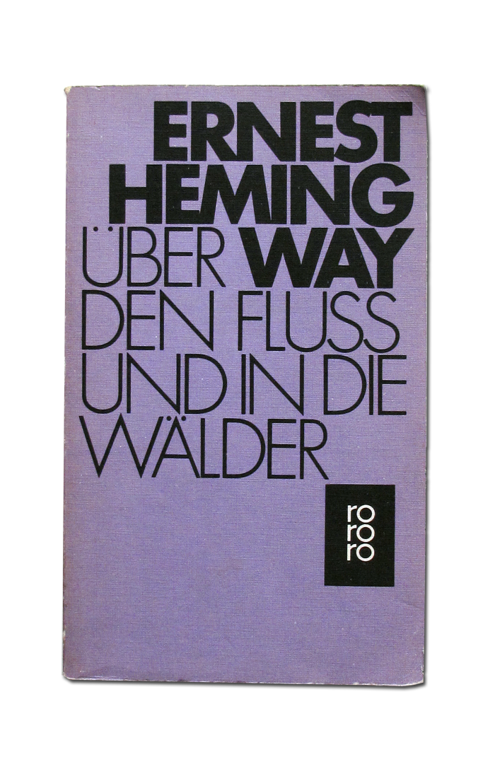 Ernest Hemingway book covers 2