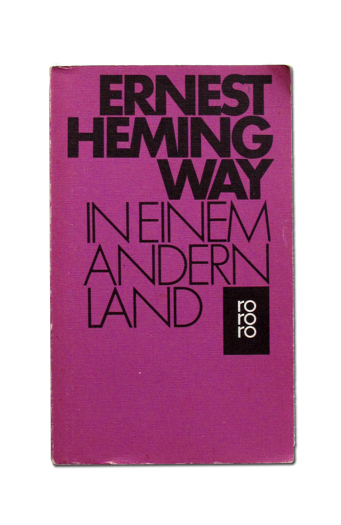 Ernest Hemingway book covers 3