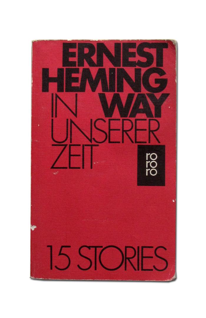 Ernest Hemingway book covers 4
