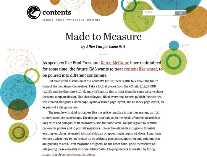 Contents Magazine
