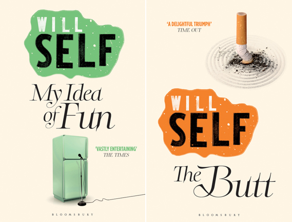 Will Self book covers 1