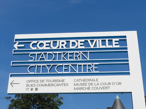 Centre Pompidou Metz signage system 8