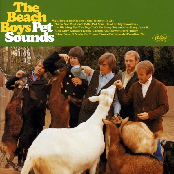 The Beach Boys Pet Sounds album cover