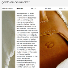 Gerda De Ceukelaire website