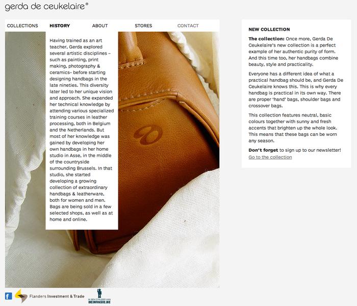 Gerda De Ceukelaire website 5