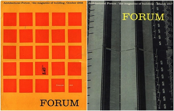 Architecture Forum, 1957–1961 1