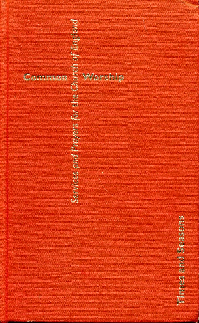 Church of England Common Worship Prayer Book, 2000 2