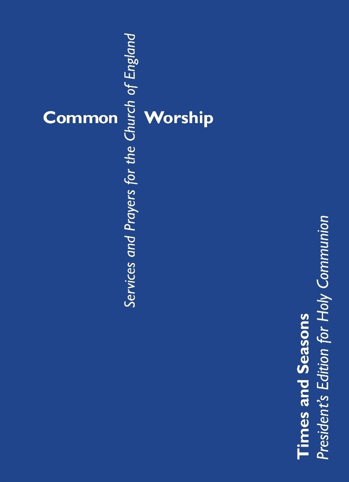 Church of England Common Worship Prayer Book, 2000 3