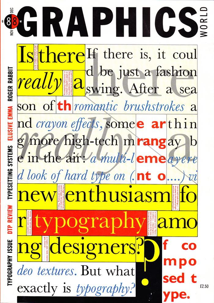 Graphics World Magazine, Nov/Dec 1988 1