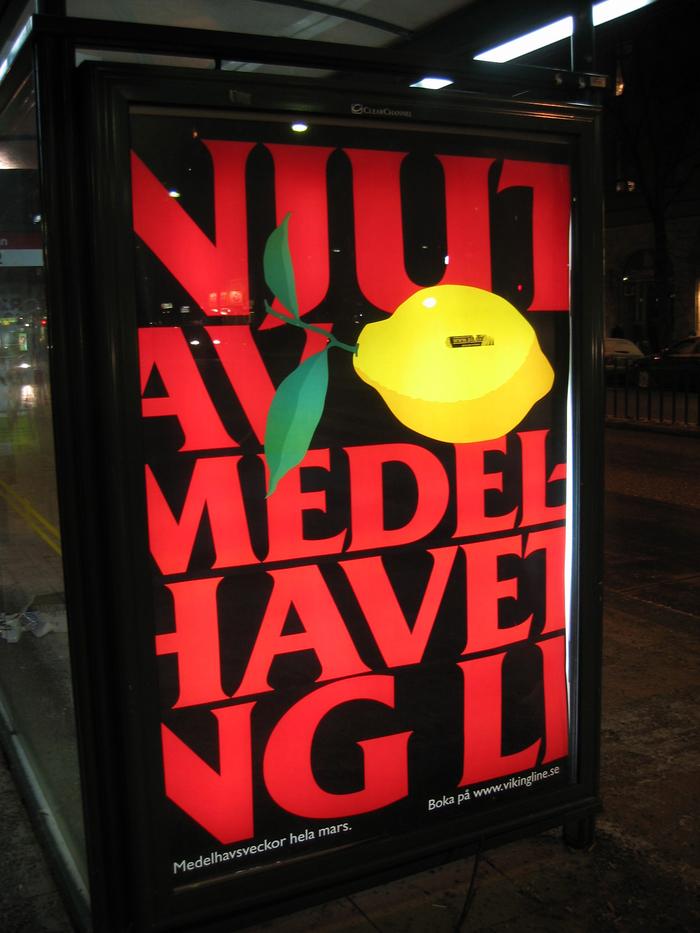 Viking Line Bus Stop Ads 2