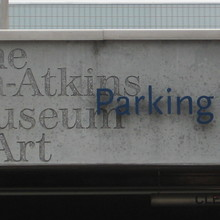 Nelson-Atkins Museum of Art sign
