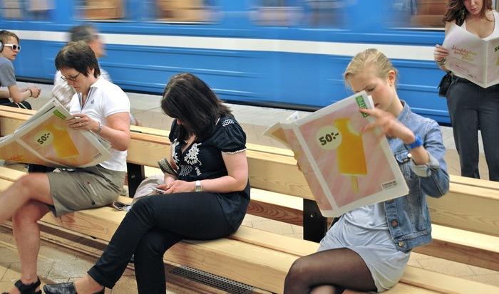 """""""Stockholms godaste glass"""" Campaign for Stockholms Stadsmission 2"""