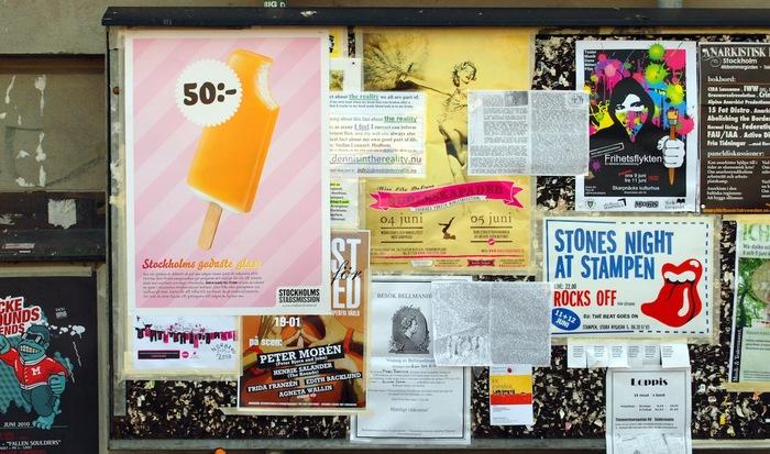 """""""Stockholms godaste glass"""" Campaign for Stockholms Stadsmission 3"""