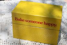 """Bake someone happy"" recipe box"