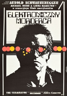 <cite>The Terminator</cite> Polish movie poster