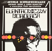 Polish Movie Poster for <cite>The Terminator</cite>