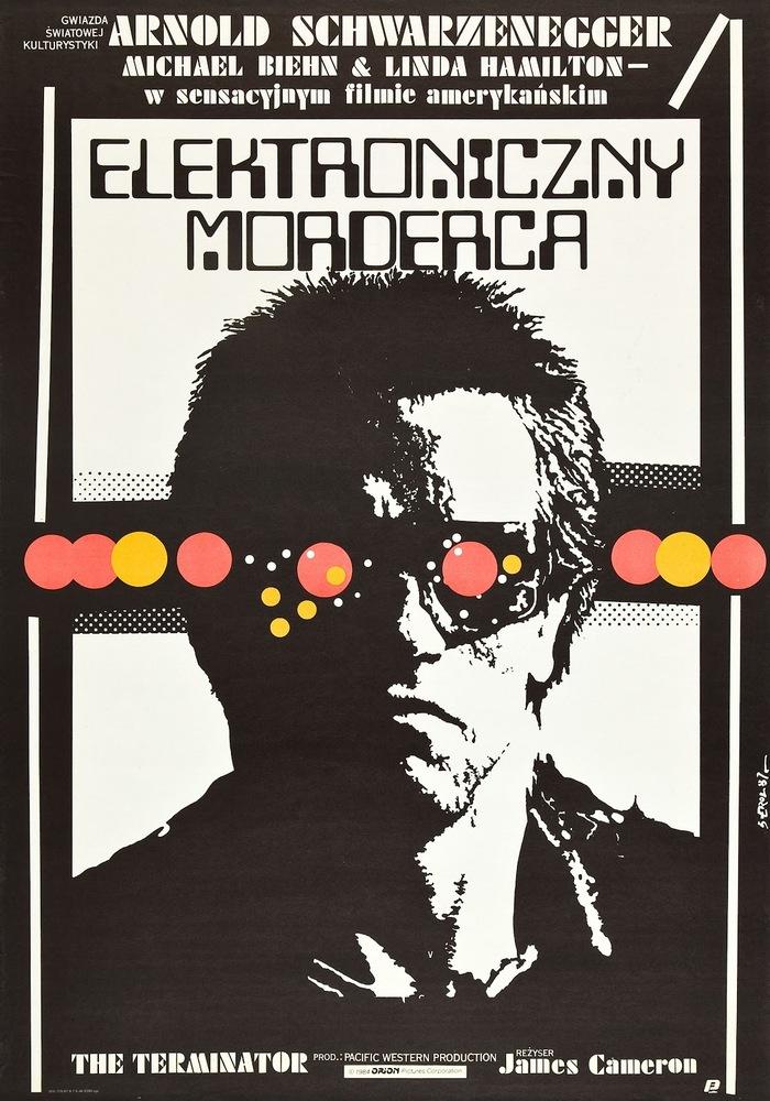 The Terminator Polish movie poster