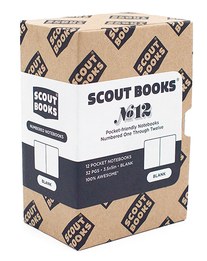 Scout Books' Numbered Notebooks 1