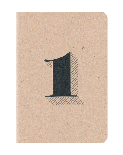 Scout Books' Numbered Notebooks 3