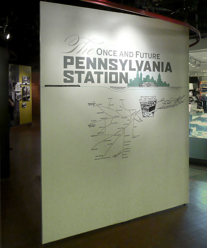 The Once and Future Pennsylvania Station exhibition 3