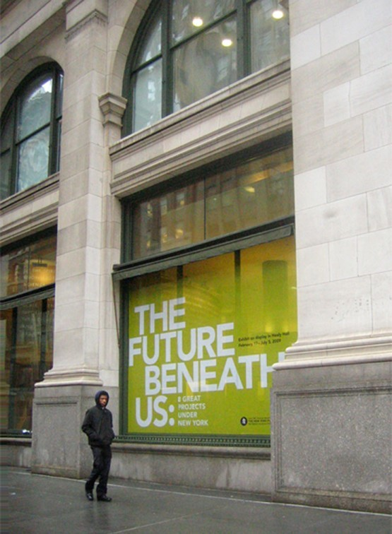 The Future Beneath Us exhibition and print materials 1