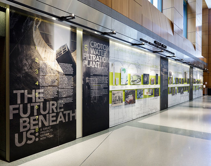 The Future Beneath Us exhibition and print materials 2