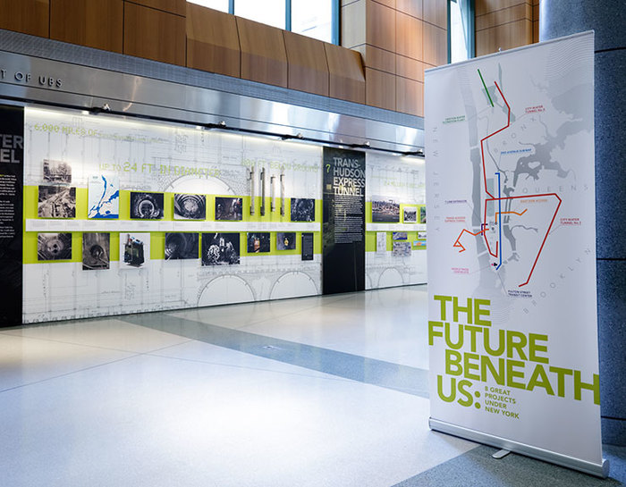 The Future Beneath Us exhibition and print materials 3