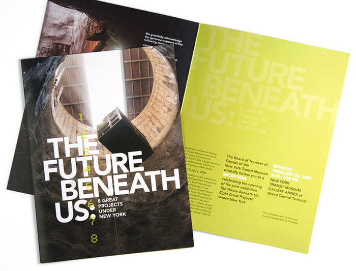 The Future Beneath Us exhibition and print materials 5