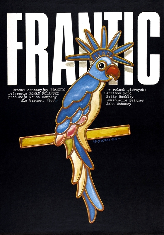 Frantic Movie Poster