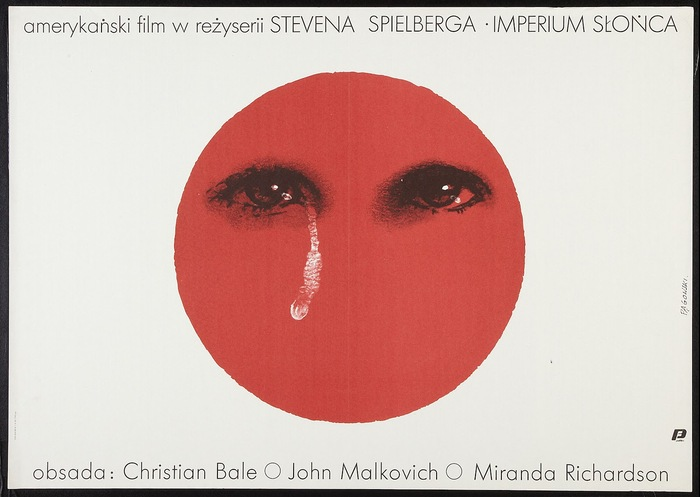 Empire of the Sun Polish Movie Poster