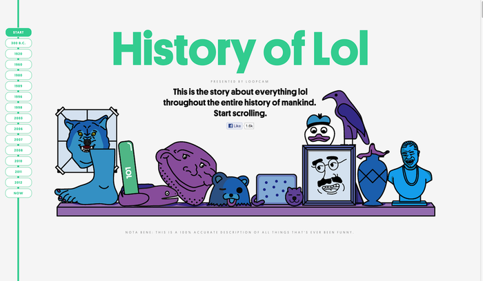 History of Lol 6
