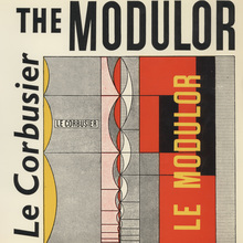 <cite>The Modulor</cite> by Le Corbusier, Faber & Faber