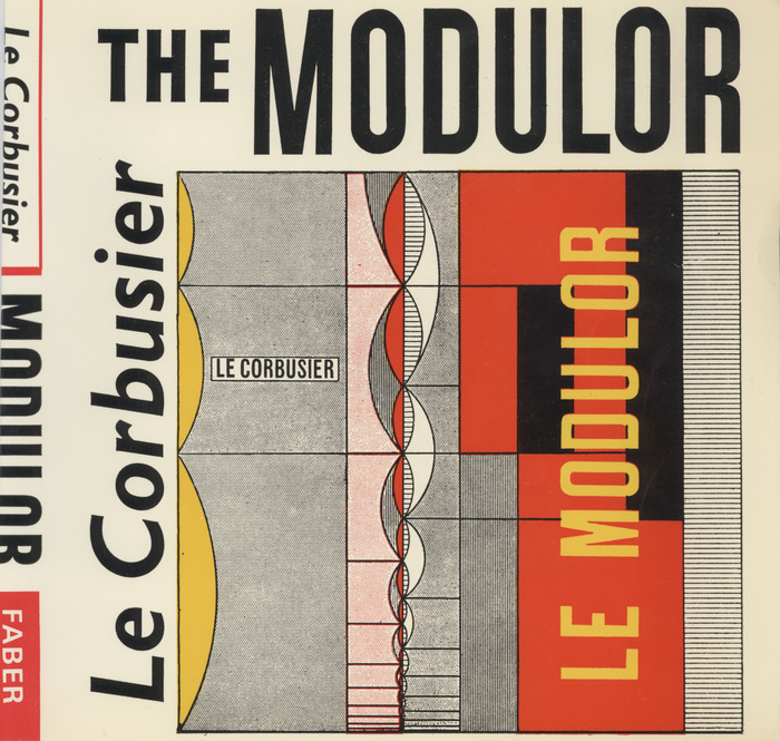 The Modulor by Le Corbusier, Faber & Faber 1