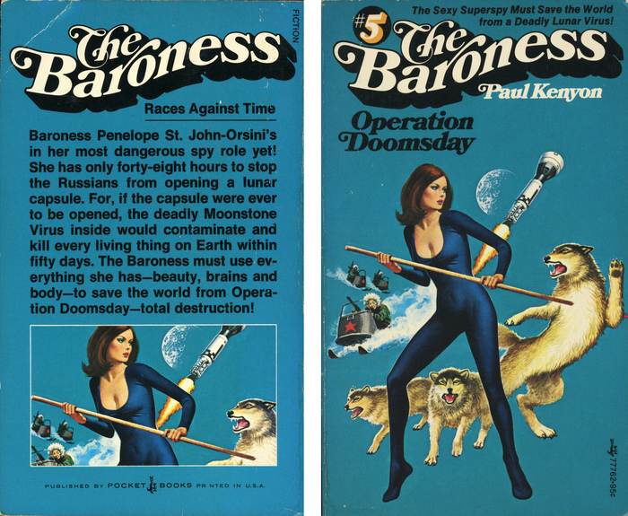 The Baroness series by Paul Kenyon 2