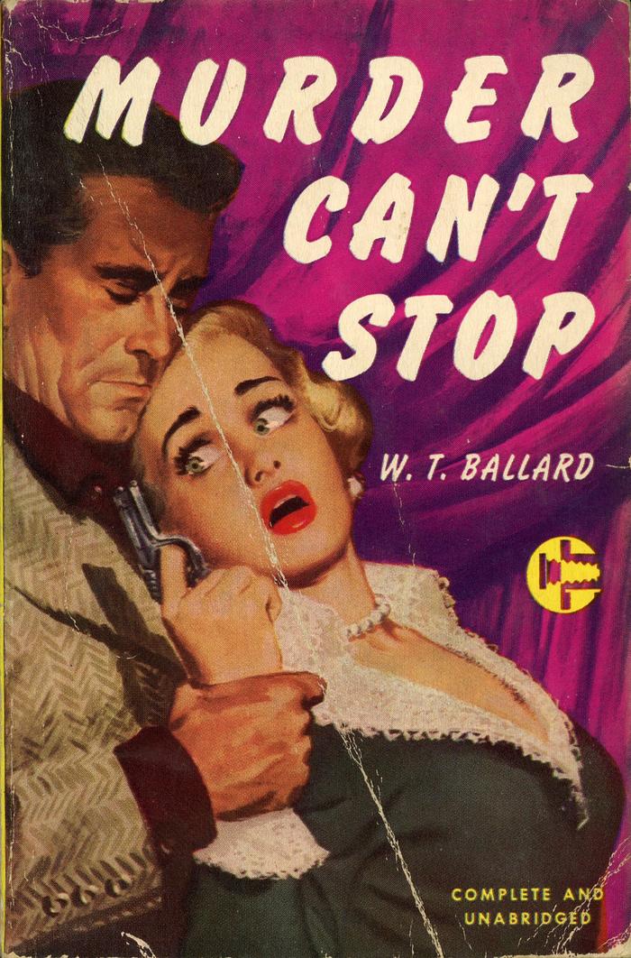 Murder Can't Stop by W.T. Ballard