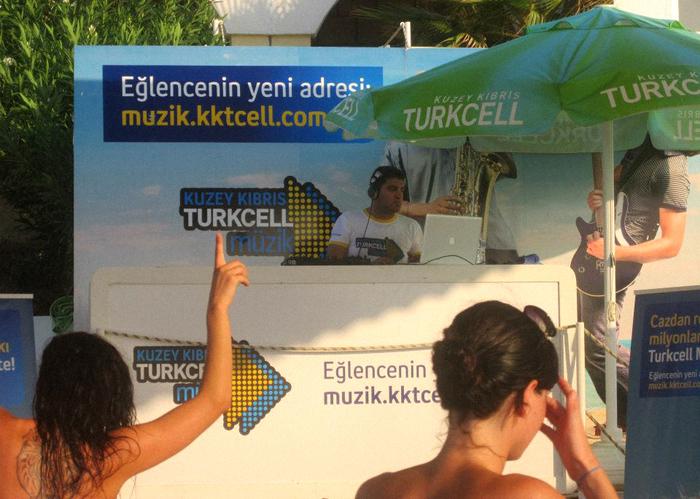 Turkcell sponsored Beach Party!