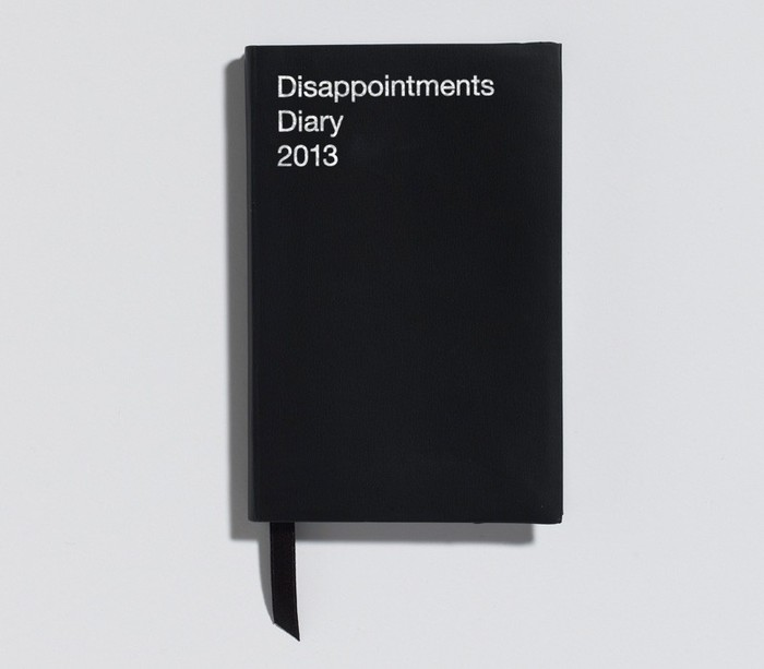 Disappointments Diary 2012 1