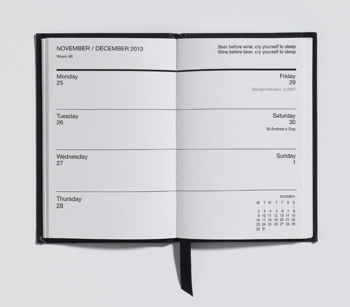 Disappointments Diary 2012 5
