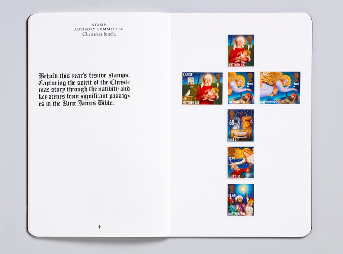 Royal Mail Christmas Bible 5