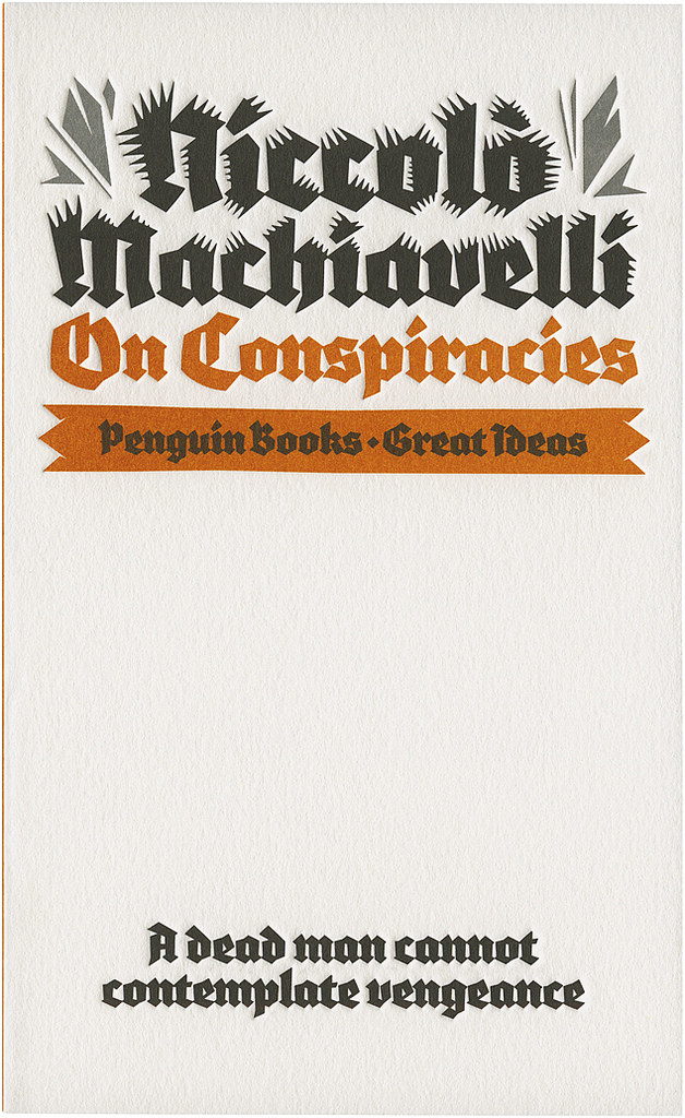 On Conspiracies, Penguin Great Ideas edition