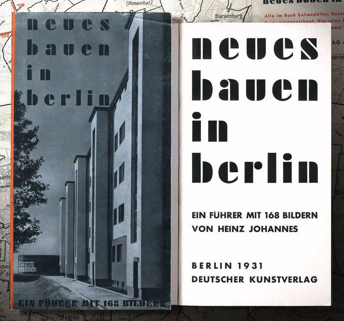Neues Bauen in Berlin 1