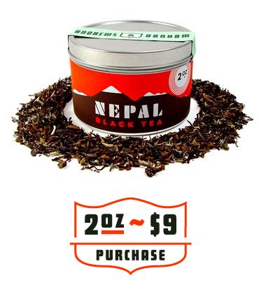 Andrews & Dunham Nepal Tea 1
