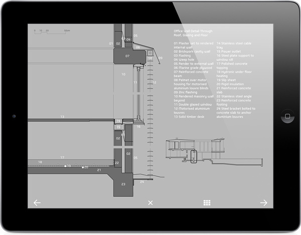 Outcast Editions' iPad architecture monographs 3