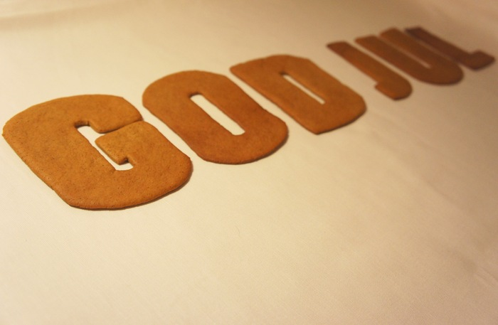 Pepparkakor (gingerbread cookies) 1