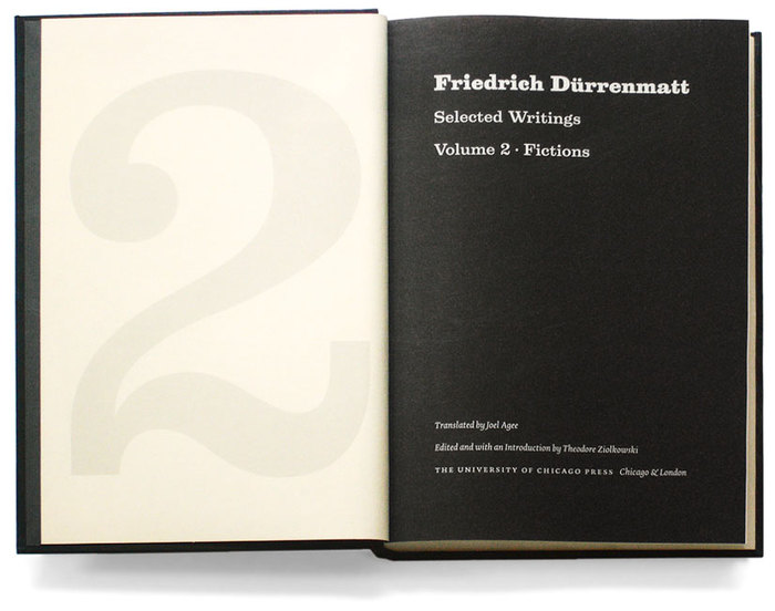 Friedrich Dürrenmatt. Selected Writings 3